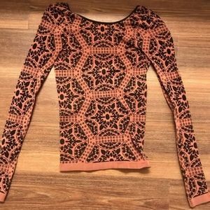 Free People Bodycon Top